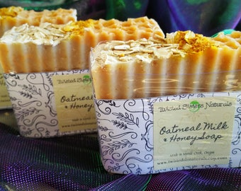 Oatmeal Milk and Honey CP Soap