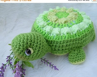 Summer Sale Crochet Pattern Turtle by Teri Crews Wool and Whims Instant Download PDF Format