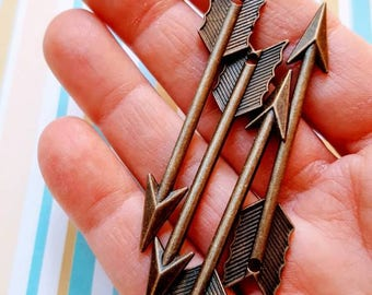 Arrows Through My Heart Vintage Junk Supplies