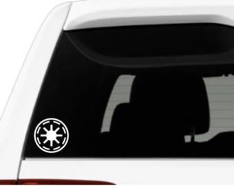 Galactic Republic Star Wars Inspired Vinyl Decal Sticker