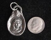 St Monica: Overcoming Worry (& Patron of Mothers) Handmade Medal
