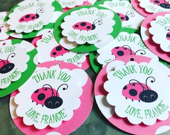 Lady Bug Tags