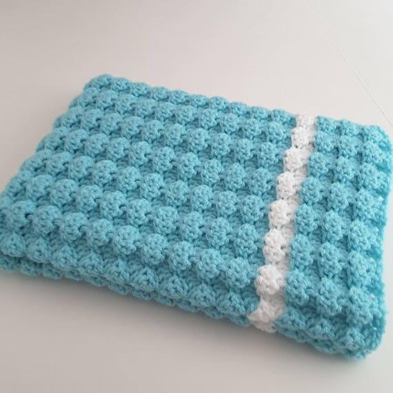 Crochet Baby Blanket Baby Girl Blanket Marshmallow Shell