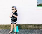 TOUCAN bloomies & shorties / summer baby toddler / hip kids SET / shorts bloomers