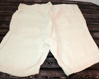 Antique Eduardian Baby Boy Short Pants Trousers Handmade SOLD AS IS