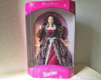 Winter Fantasy Barbie Doll, new in box, 1996. Special Edition