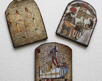 Miniature 1:12 Scale Egyptian Antiquities