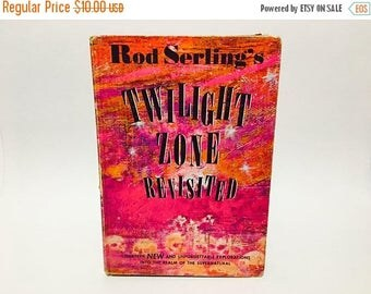 SUMMER BLOWOUT Vintage Sci Fi Book Rod Serling's Twilight Zone Revisited 1964 Hardcover Anthology