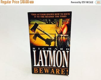 SUMMER BLOWOUT Vintage Horror Book Beware! by Richard Laymon 1994 UK Edition Paperback
