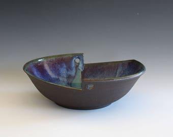 Modern Ceramic bowl, pottery bowl, hand thrown stoneware, handmade ceramics, ceramic serving bowl, ceramics and pottery