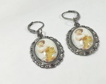 Custom Photo Earrings