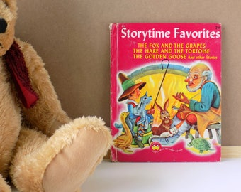 1947 Storytime Favorites. Wonder Books Children's Book. Theresa Ann Scott. Anton Loeb. Vintage Storybook. Nursery Decor. Preschool Child.