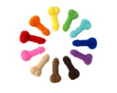 PICK YOUR D!CK catnip cat toy or dog squeaker toy / weird / gag gift / stocking stuffer