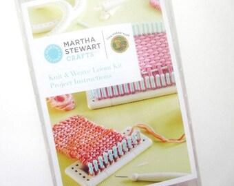 Martha Stewart Crafts Knit & Weave Loom Kit