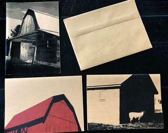 Barns note cards