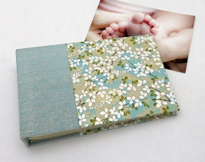 Handbound Mini Photo Album - in stock for 4x6 photos