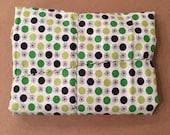 1 2/3 yards Flea Market Fancy Green Flower Dot by Denyse Schmidt