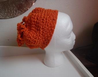 Orange Child Slouch Hat