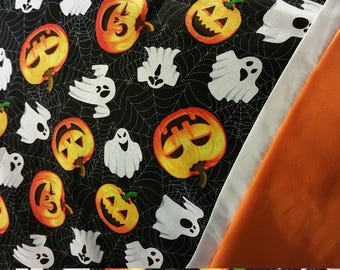 Pumpkins and Ghost Halloween Pillowcase