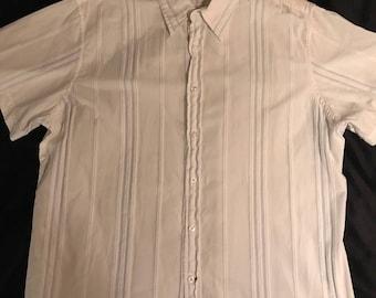 Vintage Guess Shirt. Men's Guess Jeans Button Down Shirt. Button Down Shirt. Men's Summer Shirt.
