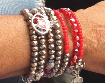 Snake Bracelet: Tampa Bay Buccaneers