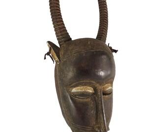 Guro Mask Buffalo Cote d'Ivoire African Art 119791