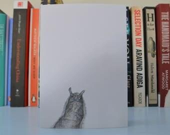 Slug greetings card