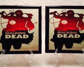 The Walking Dead Coasters/ TWD/ Zombies