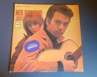 Neil Diamond Just For You Vinyl Record LP BLPS-217 Bang Records 1967