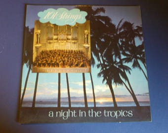 101 Strings A Night In The Tropics Vinyl Record LP P-4400 Somerset Records 1957