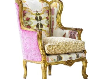 Boho Chic French Bergere