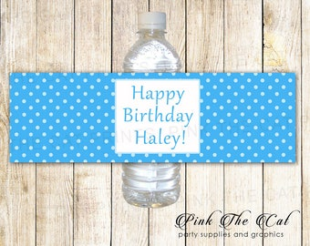 water bottle design template