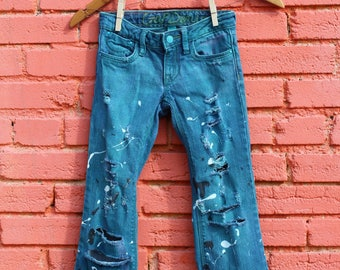 Boys Jeans 6 Distressed Jeans Trendy Kids Clothes Edgy Kids Clothes Boys Skinny Jeans Distressed Denim Boys Ripped Jeans Ripped Denim