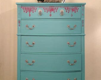 Bohemia the Beautiful Chest of Drawers *Dresser*Whimsical Furniture