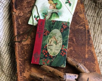 1905 The Stocking Series Antique Christmas Fairy Tales From Anderson Miniature Book