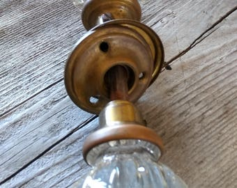 Glass door knobs Etsy