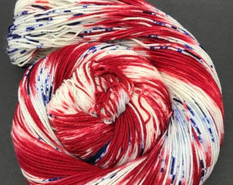 Jimmy Sock, Hand Dyed Yarn. Sock Yarn, HauteKnitYarn, Superwash Merino, Nylon, Fingering weight, Hand Dyed,  Scandal Collection: Mellie