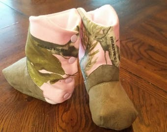 Pink Realtree Clubfoot Boots