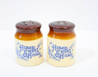 40% OFF CHRISTMAS in JULY Rustic salt and pepper shakers