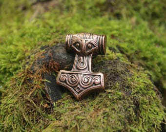 Small thor's hammer, copper finish