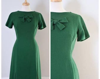 ON SALE 60s Shannon Rodgers Green Day Dress