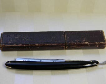 STRAIGHT RAZOR, H. Boker & Co.,  No. 226, Our Own Hollow Ground Razor with Box, Germany