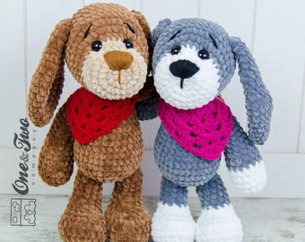 Joe the Puppy Amigurumi - PDF Crochet Pattern - Instant Download - Amigurumi Cuddy Stuff