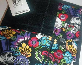 Dia De Los Muertos potholder & dish towel set, day of the dead