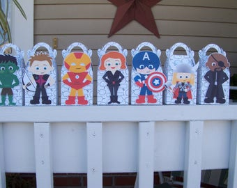 The Avengers inspired Gable Boxes Set of 28 with Free Shipping