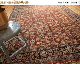 10% OFF RUGS 7x10.5 Vintage Mahal Carpet