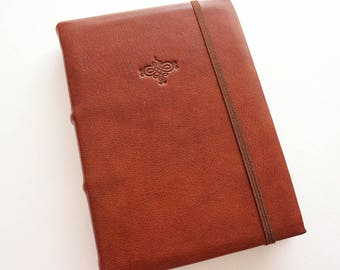 Brown Leather A6 Journal
