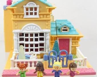 1994 Vintage Polly Pocket Light-up Hotel Bluebird Toys (39889)
