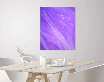 Purple Aesthetic Pastel Sparkle | Abstract Art Print | Purple Photography | Purple Nursery Decor Art | Large Modern Abstract Wall Art Print