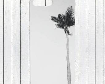 iPhone Phone Case | Galaxy Phone Case | Ocean Phone Case | Minimalist Phone Case BW | Coastal Nautical Beach Palm Tree Cell Phone Case Cover
